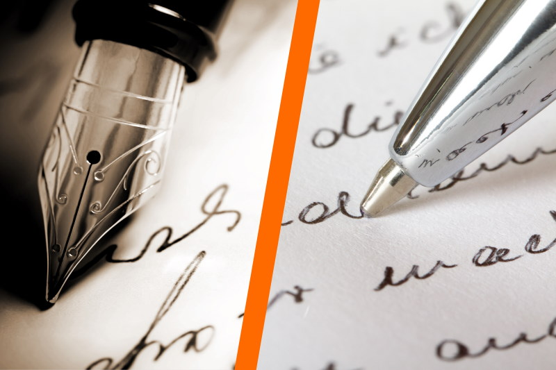 Fountain Pens vs. Ballpoint Pens